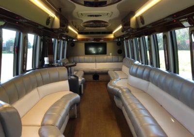 Go Riteway Limo Coach Interior
