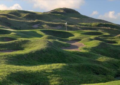 Whistling Straits Irish Course Bunkers