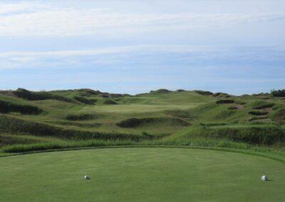 Whistling Straits Irish Course Hole 1 Tee