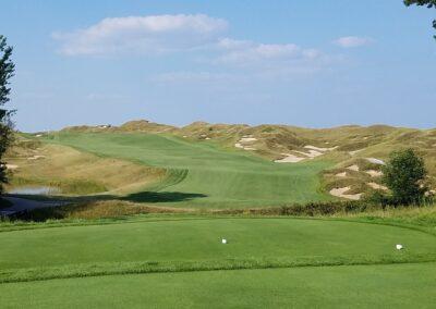 Whistling Straits Irish Course Hole 10 Tee JK