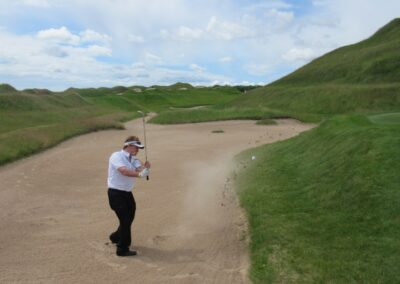 Whistling Straits Irish Course Hole 11 Bunker Fred Berry
