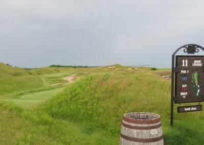 Whistling Straits Irish Course Hole 11 Sign