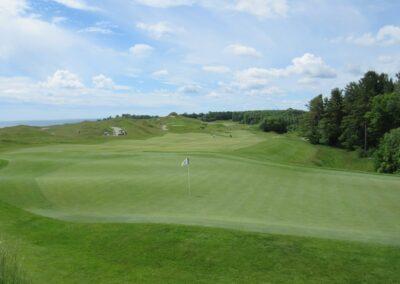 Whistling Straits Irish Course Hole 12 Green