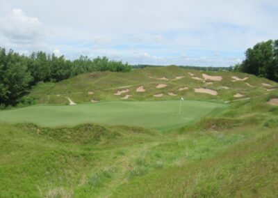 Whistling Straits Irish Course Hole 13 Green