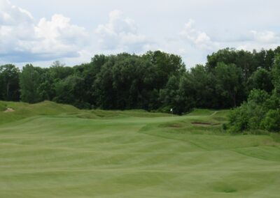 Whistling Straits Irish Course Hole 15 Approach