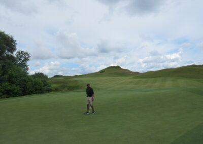 Whistling Straits Irish Course Hole 15 Green