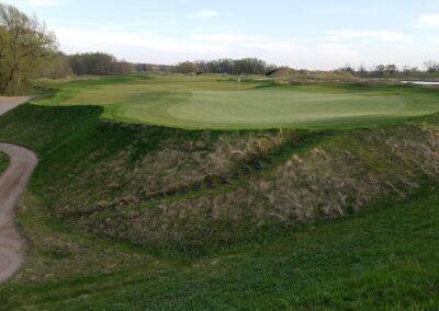 Whistling Straits Irish Course Hole 16 Green Back