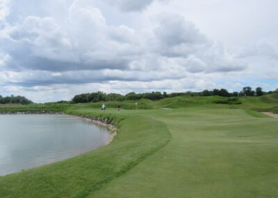 Whistling Straits Irish Course Hole 17 Approach