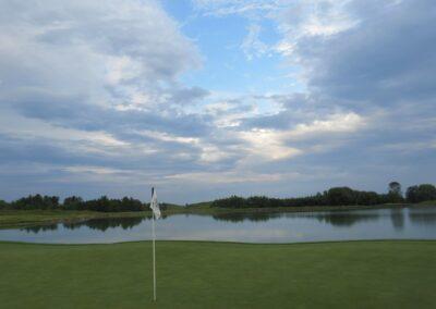 Whistling Straits Irish Course Hole 17 Green