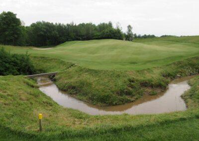Whistling Straits Irish Course Hole 18 Hazard
