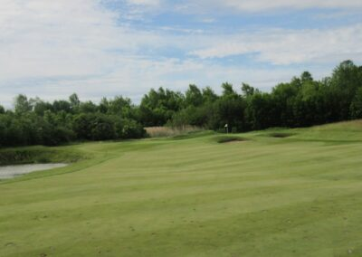 Whistling Straits Irish Course Hole 2 Approach