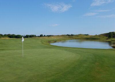Whistling Straits Irish Course Hole 2 Green
