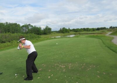 Whistling Straits Irish Course Hole 3 Tee Fred Berry