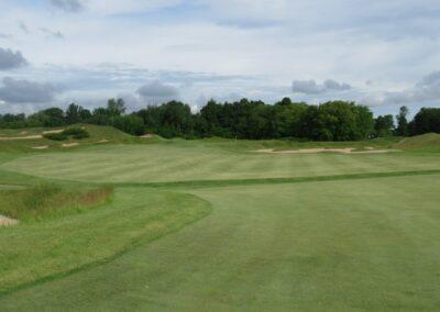 Whistling Straits Irish Course Hole 4 Fairway