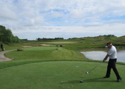 Whistling Straits Irish Course Hole 4 Tee Fred Berry
