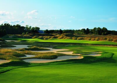 Whistling Straits Irish Course Hole 5 Approach