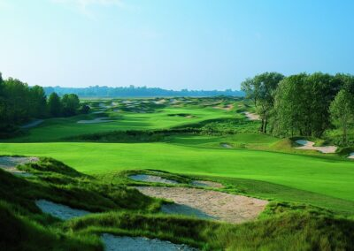 Whistling Straits Irish Course Hole 6 Approach