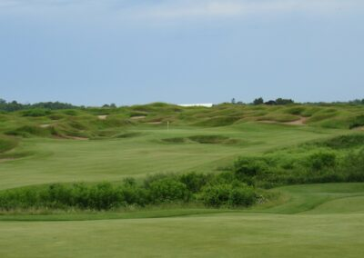 Whistling Straits Irish Course Hole 8 Approach