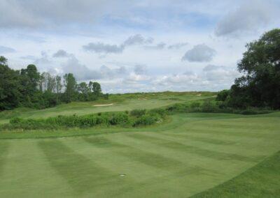 Whistling Straits Irish Course Hole 8 Second Shot