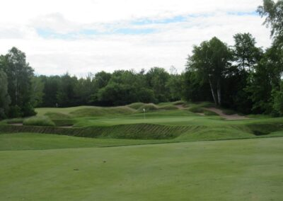 Whistling Straits Irish Course Hole 9 Approach