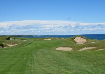 Whistling Straits - Straits Course Hole 11 Second Shot