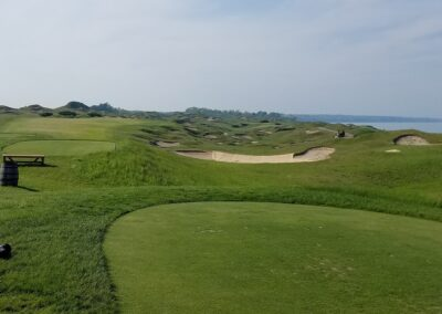 Whistling Straits - Straits Course Hole 11 Tee