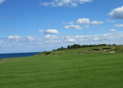 Whistling Straits - Straits Course Hole 16 Approach (2)