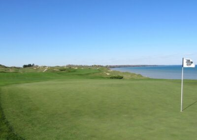 Whistling Straits - Straits Course Hole 16 Endless Bite Green