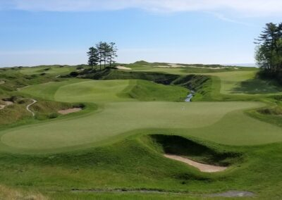 Whistling Straits - Straits Course Hole 18 Green View