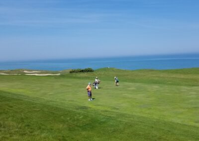 Whistling Straits - Straits Course Hole 2 Fairway Lake View