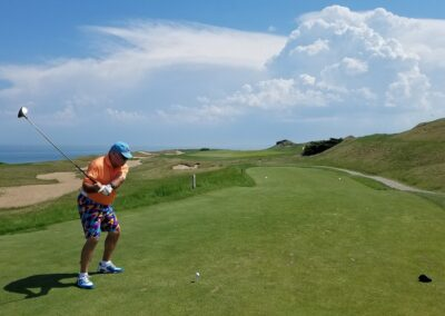 Whistling Straits - Straits Course Hole 2 Tee Claudio D