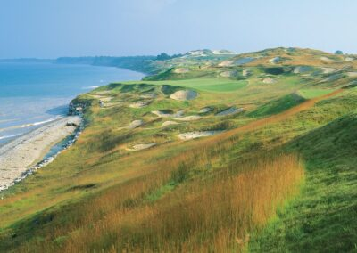 Whistling Straits - Straits Course Hole 3 Lake View GR