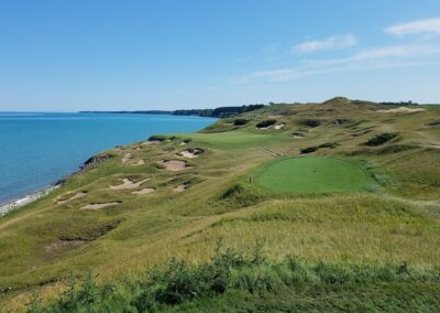 Whistling Straits - Straits Course Hole 3 Tee