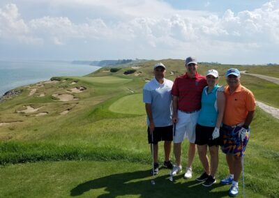 Whistling Straits - Straits Course Hole 3 Tee Group May 2018