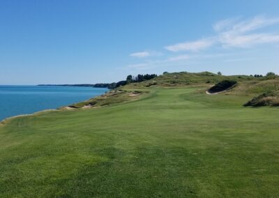 Whistling Straits - Straits Course Hole 4 Fairway (2)