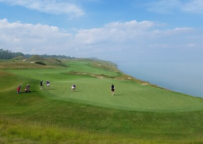 Whistling Straits - Straits Course Hole 4 Green View (2)