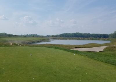 Whistling Straits - Straits Course Hole 5 Tee