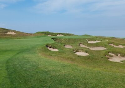 Whistling Straits - Straits Course Hole 6 Approach