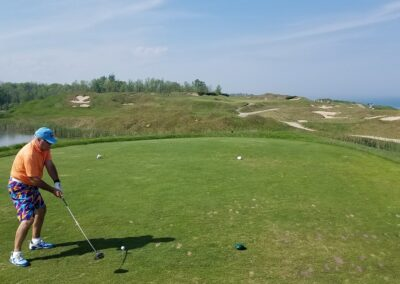 Whistling Straits - Straits Course Hole 6 Tee