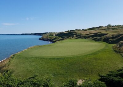 Whistling Straits - Straits Course Hole 7 Green View