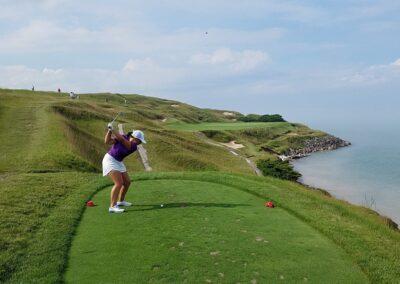 Whistling Straits - Straits Course Hole 7 Tee Jo