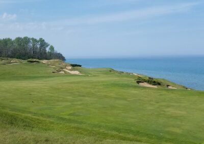 Whistling Straits - Straits Course Hole 8 Approach