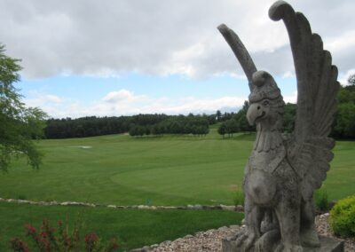 Wild Rock Golf Club Driving Range Statue