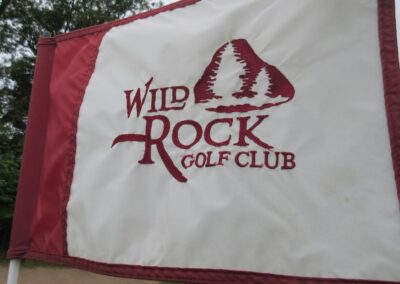 Wild Rock Golf Club Flag