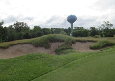 Wild Rock Golf Club Hole 3 Bunker