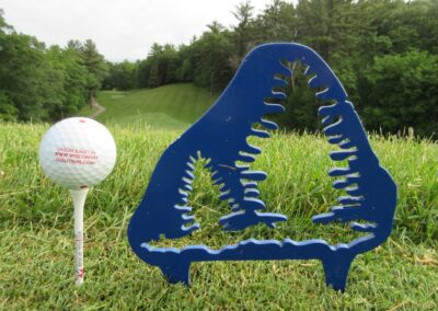 Wild Rock Golf Club Tee Marker