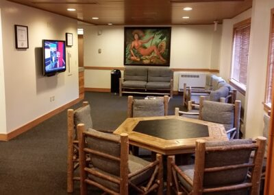 Blackwolf Run - Clubhouse Locker Room Lounge