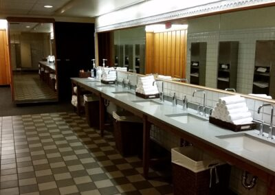 Blackwolf Run - Clubhouse Locker Room Sinks