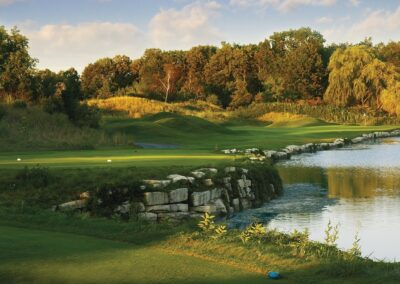 Blackwolf Run River Course Hole 4 Par 3 GR