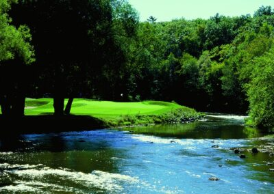 Blackwolf Run River Golf Course Hole 13 Tall Timber